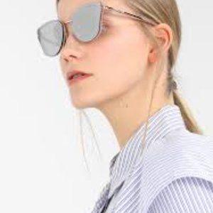 Michael Kors SANIBEL Glitter PowderBlue Sunglasses